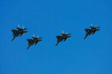 F-15 Fly Over