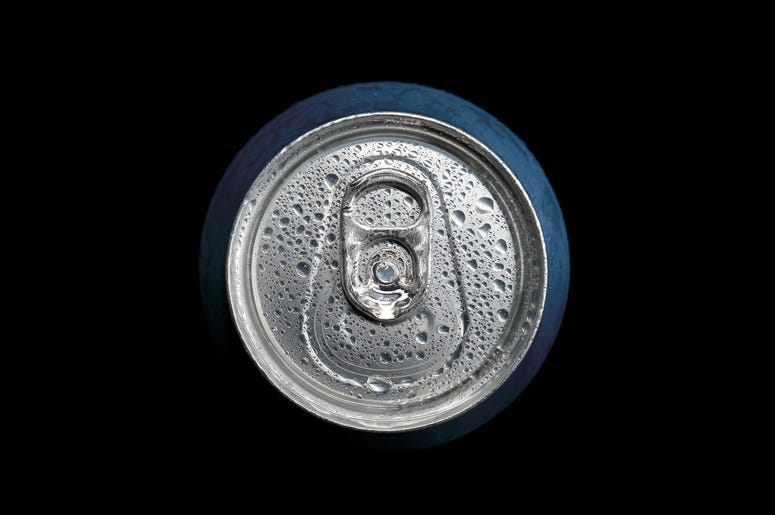 Cold Beverage in a can
