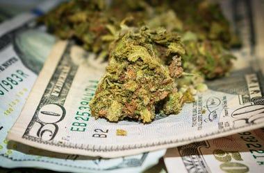 Marijuana Scented Cash
