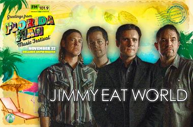 Jimmy Eat World Florida Man Banner