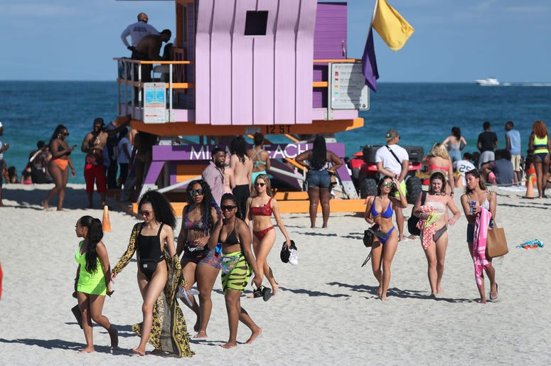 miami beach spring break