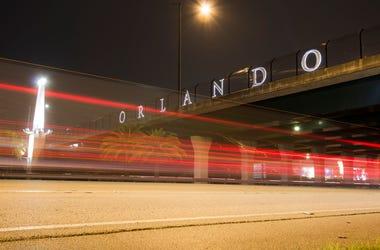 Orlando Sign Overpass