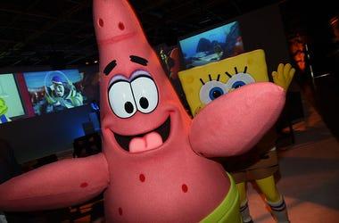 Patrick Star and Spongebob