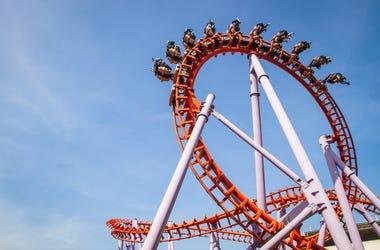 Roller Coaster Inverted Loop
