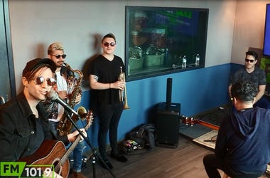 saint motel in studio