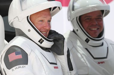 SpaceX Dragon Crew Astronauts