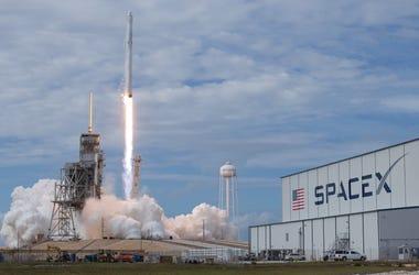 SpaceX Dragon Rocket Launch