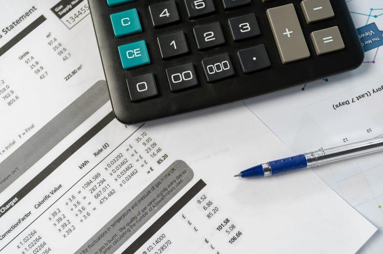 utility bills and calculator