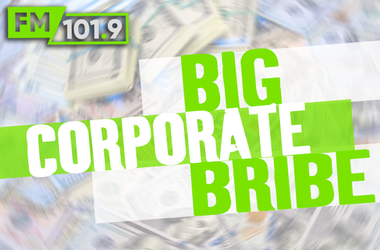 big corporate bribe 8a to 5p