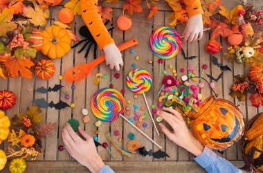 generic halloween candy