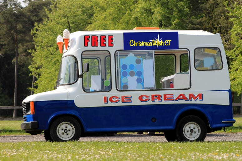 Christmas Wish CT Ice Cream Truck