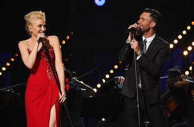 Gwen Stefani and Adam Levine