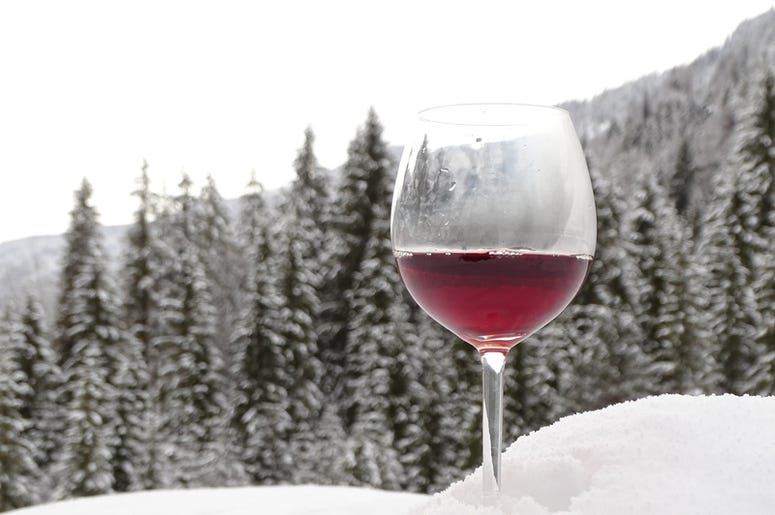 SNOW AND WINE