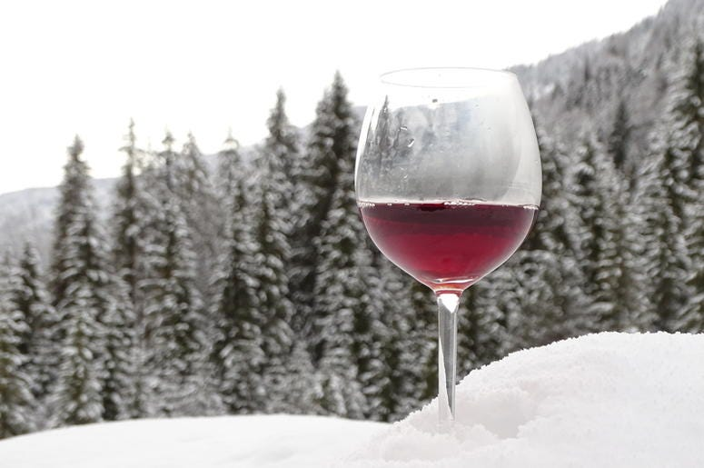 SNOW AND WINE