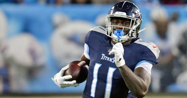 Titans receiver A.J. Brown