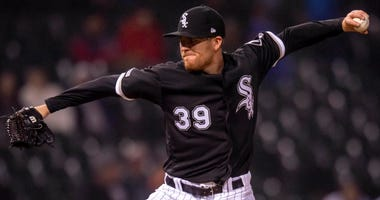 White Sox reliever Aaron Bummer