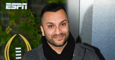 Sports broadcaster Adam Amin in 2019