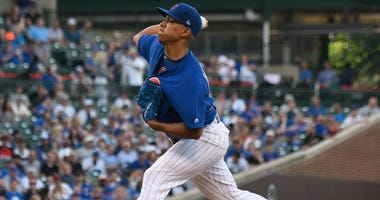 Cubs right-hander Adbert Alzolay
