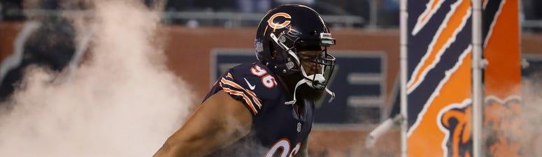 Bears defensive lineman Akiem Hicks