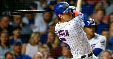 Cubs outfielder Albert Almora Jr.