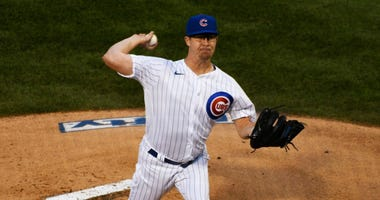 Cubs right-hander Alec Mills