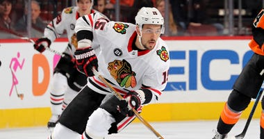 Blackhawks forward Artem Anisimov