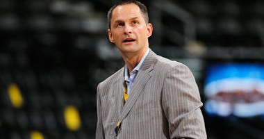 Nuggets general manager Arturas Karnisovas