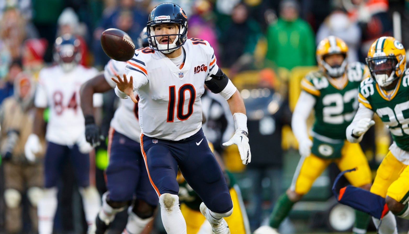 Bears' Lateral-Filled Last Play Comes Up Just Short