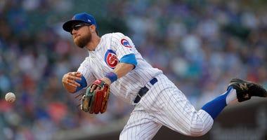 Cubs infielder Ben Zobrist