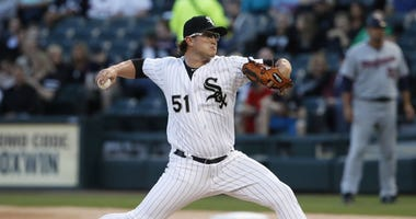 White Sox right-hander Carson Fulmer