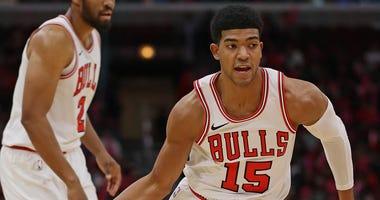 Bulls forward Chandler Hutchison