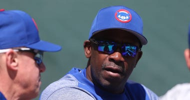 Cubs hitting coach Chili Davis