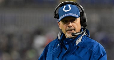 Chuck Pagano in 2017