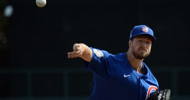 Cubs right-hander Colin Rea