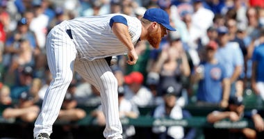 Cubs closer Craig Kimbrel