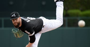 White Sox left-hander Dallas Keuchel