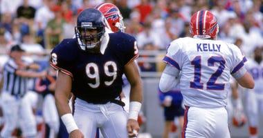 Bears defensive lineman Dan Hampton in 1988