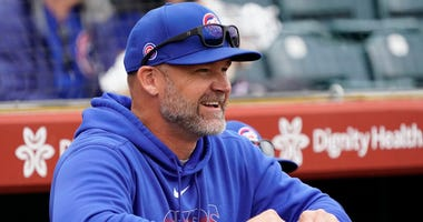 Cubs manager David Ross