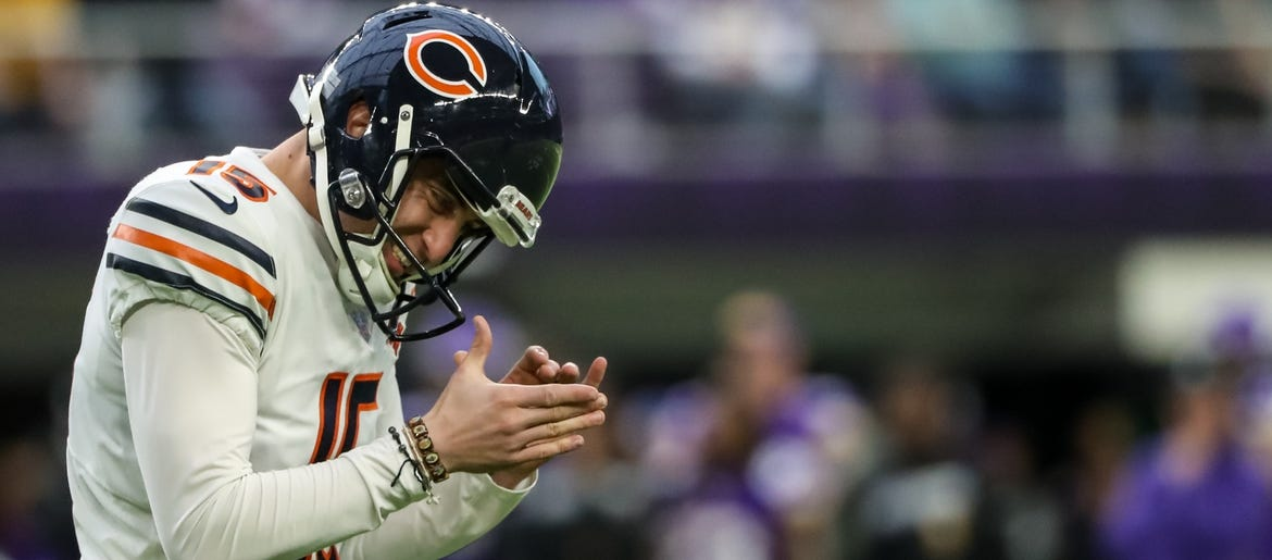 Eddy Pineiro Could Be Challenged As Bears' Kicker