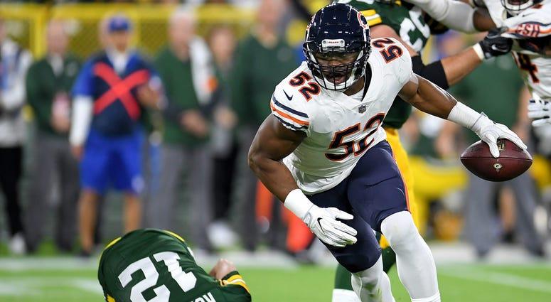 Bears linebacker Khalil Mack