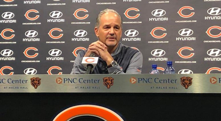 Bears defensive coordinator Chuck Pagano