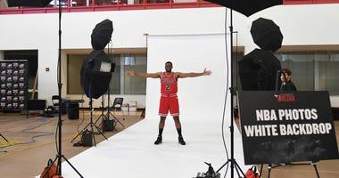 Bulls forward Jabari Parker at media day