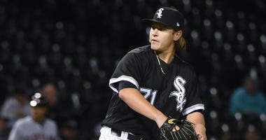 White Sox left-hander Jace Fry