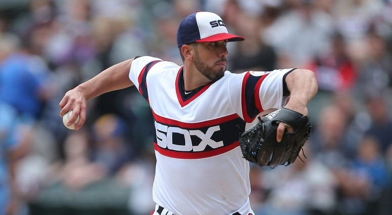 White Sox right-hander James Shields