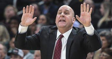 Bulls coach Jim Boylen