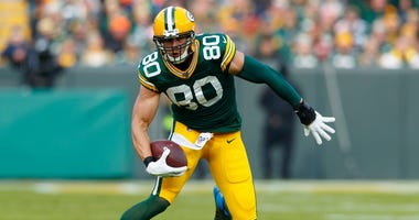 Jimmy Graham with the Packers in 2019