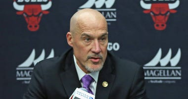 Bulls executives vice president of basketball operations John Paxson