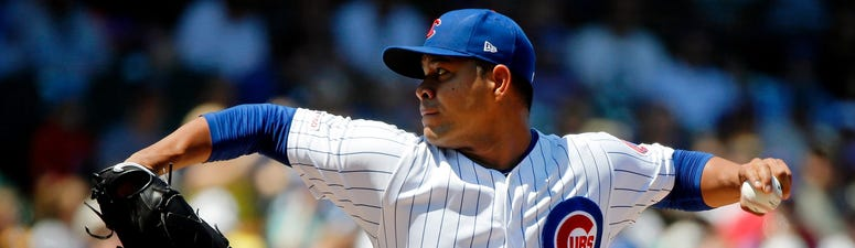 Cubs left-hander Jose Quintana