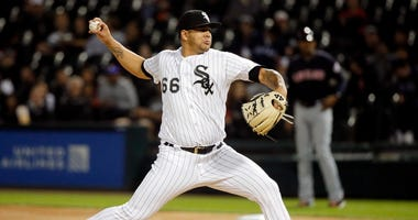 White Sox reliever Jose Ruiz
