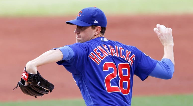 Cubs right-hander Kyle Hendricks